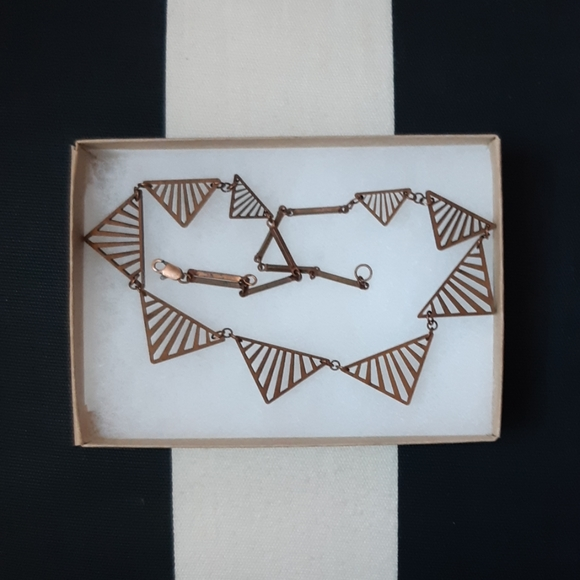 NWOT HENDERSON Dry Goods Art Deco Necklace